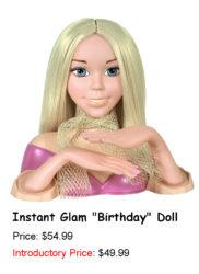 """Instant Glam """"Birthday"""" Doll"""